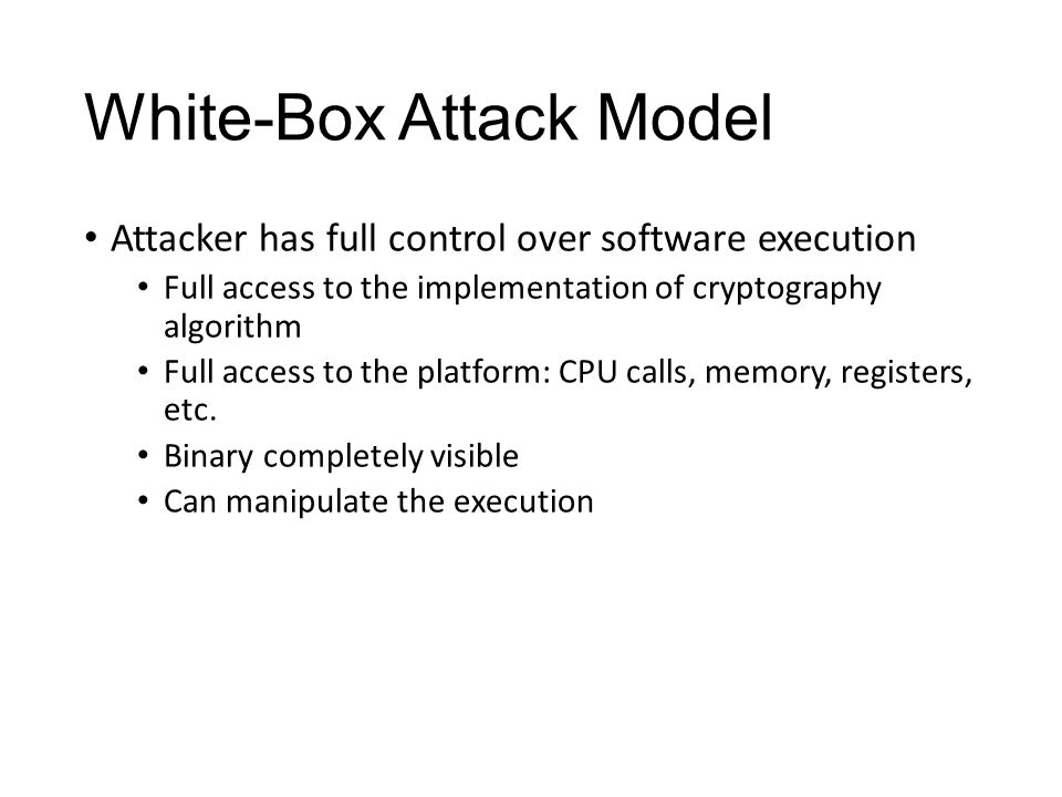 What is White-Box Cryptography.