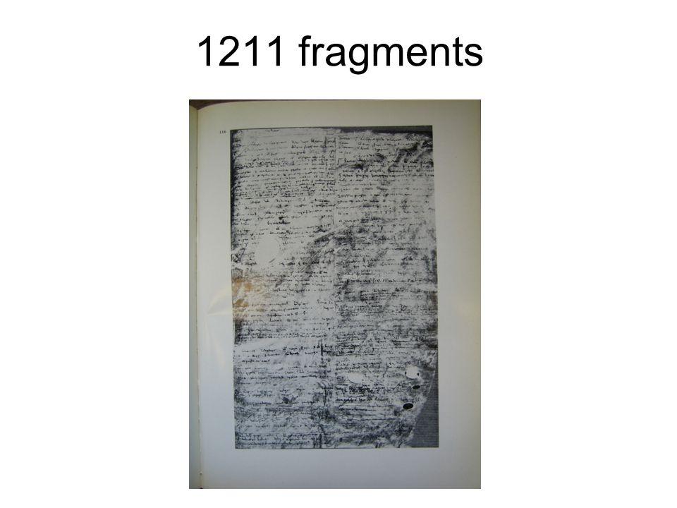 1211 fragments