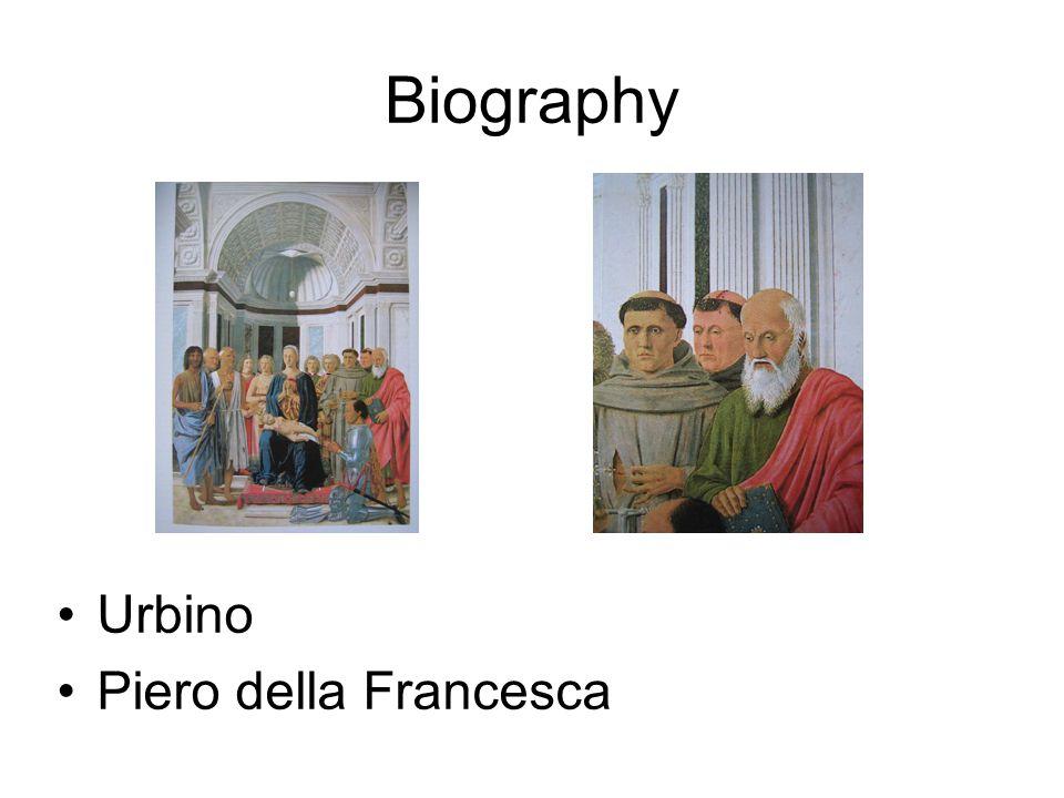 Urbino Piero della Francesca