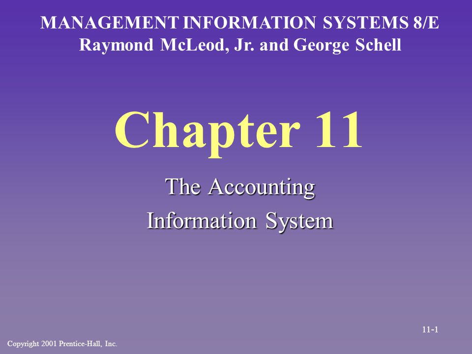 Accounts Receivable n Four separate triggers –Today s sales –Today s payments –Time to send statements –Need to provide general ledger data 11-22