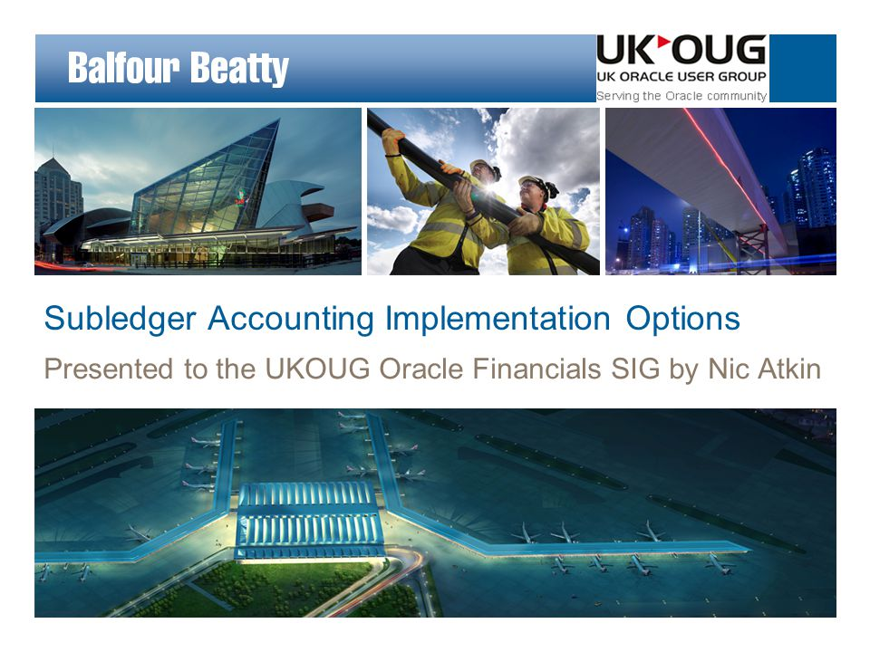 Subledger Accounting Implementation options for new R12 implementations, and R11i upgrades