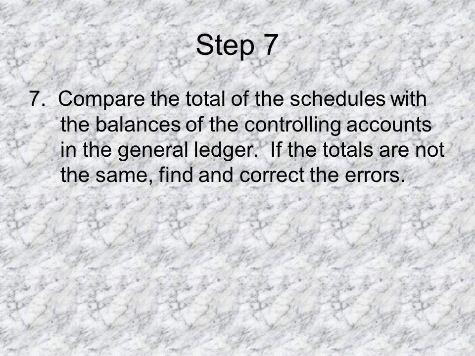 Step 7 7.