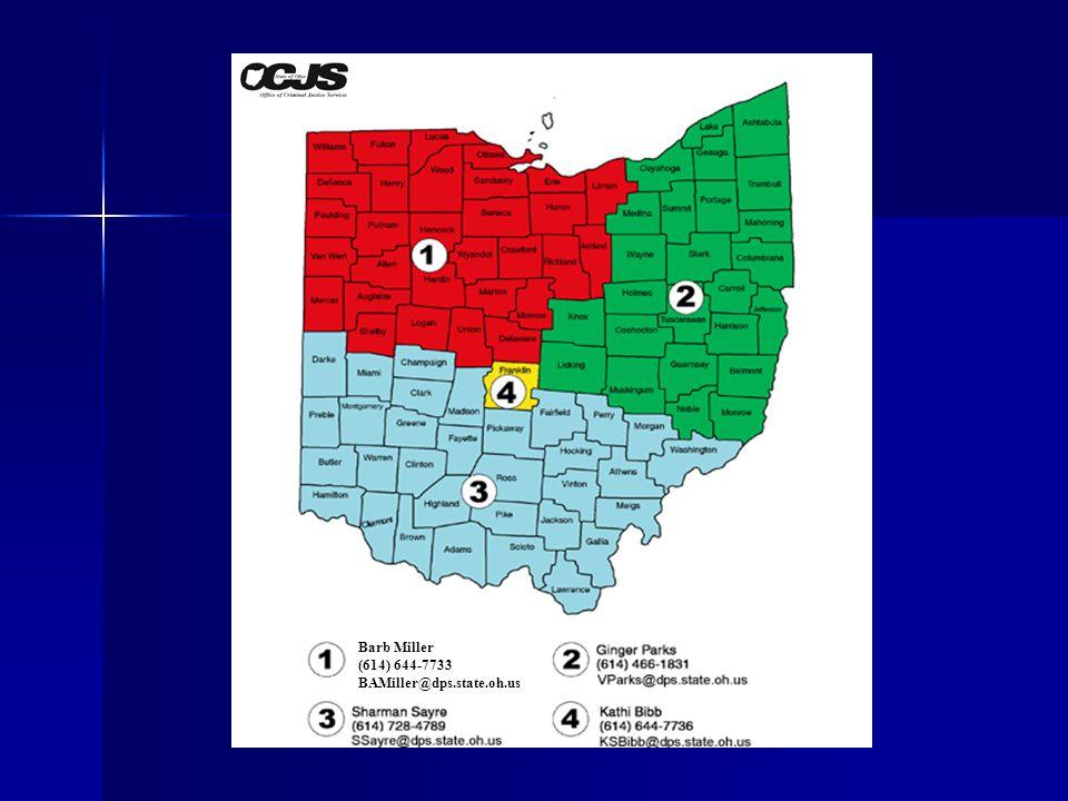 Barb Miller (614) 644-7733 BAMiller@dps.state.oh.us
