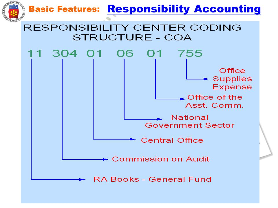 Basic Features: Responsibility Accounting