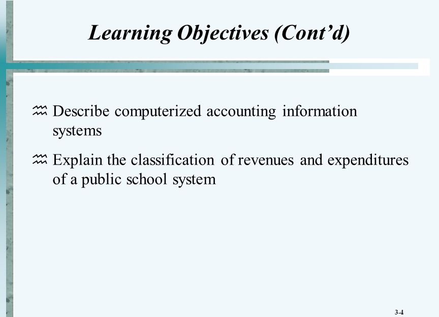 3-5 Government-wide Statement of Activities Expenses should be reported by function or program  Direct expenses - those associated with a function or program  Indirect expenses - those that are not directly linked to an identifiable function