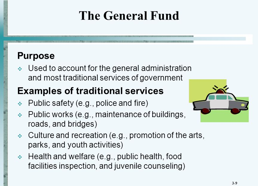 3-10 Purpose  Used to record the budgetary inflows and outflows estimated or authorized in the annual budget Accounts  Estimated Revenues, Estimated Other Financing Sources  Appropriations, Estimated Other Financing Uses  Encumbrances Budgetary Accounts