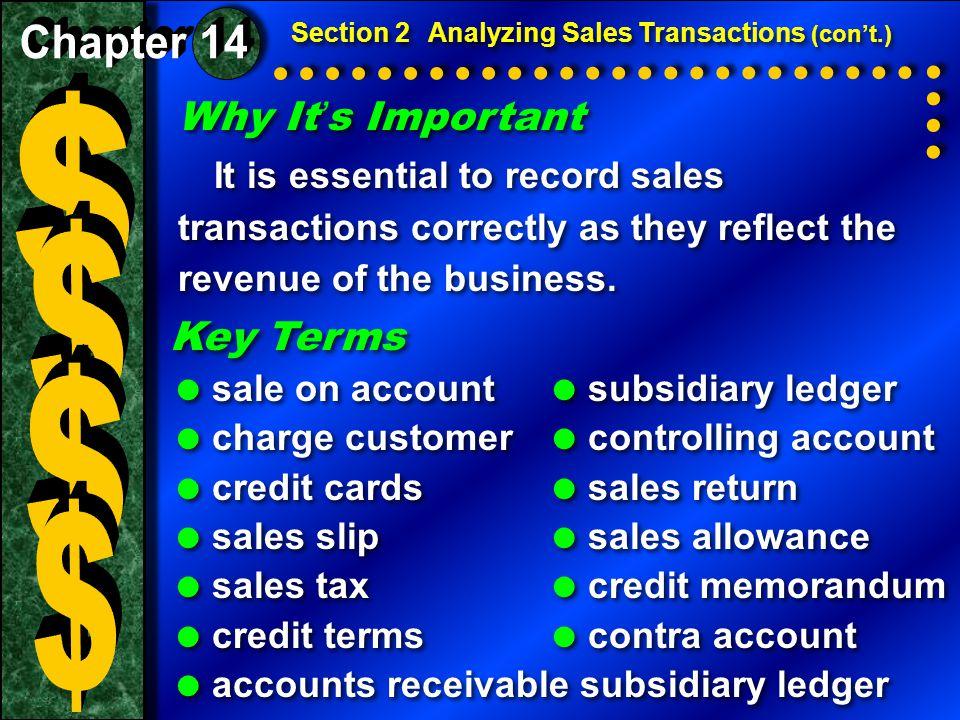 The Sales Slip A sales slip lists the details of a sale: The Sales Slip A sales slip lists the details of a sale:  The date of the sale.