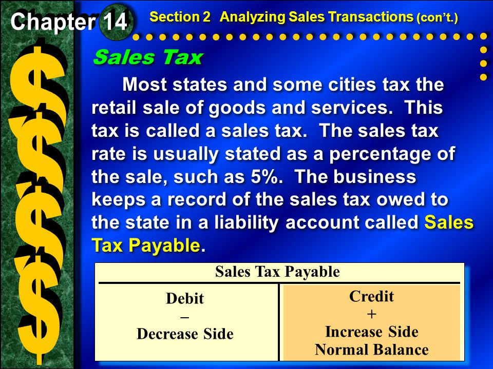 Sales Returns and Allowances (con ' t.)  A credit memorandum lists the details of a sales return or allowance.