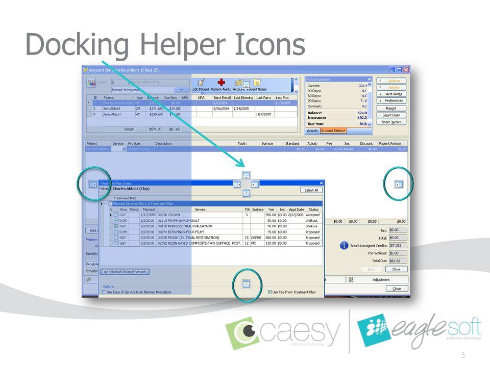 Account – Action Items Balance - Display the Balance panel.