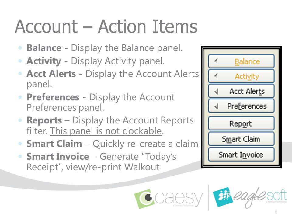 Adjustment Tab 17 Account Details Adjustment Processing