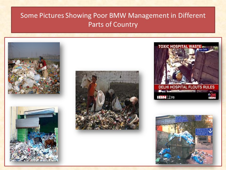 Some Pictures Showing Poor BMW Management in Different Parts of Country
