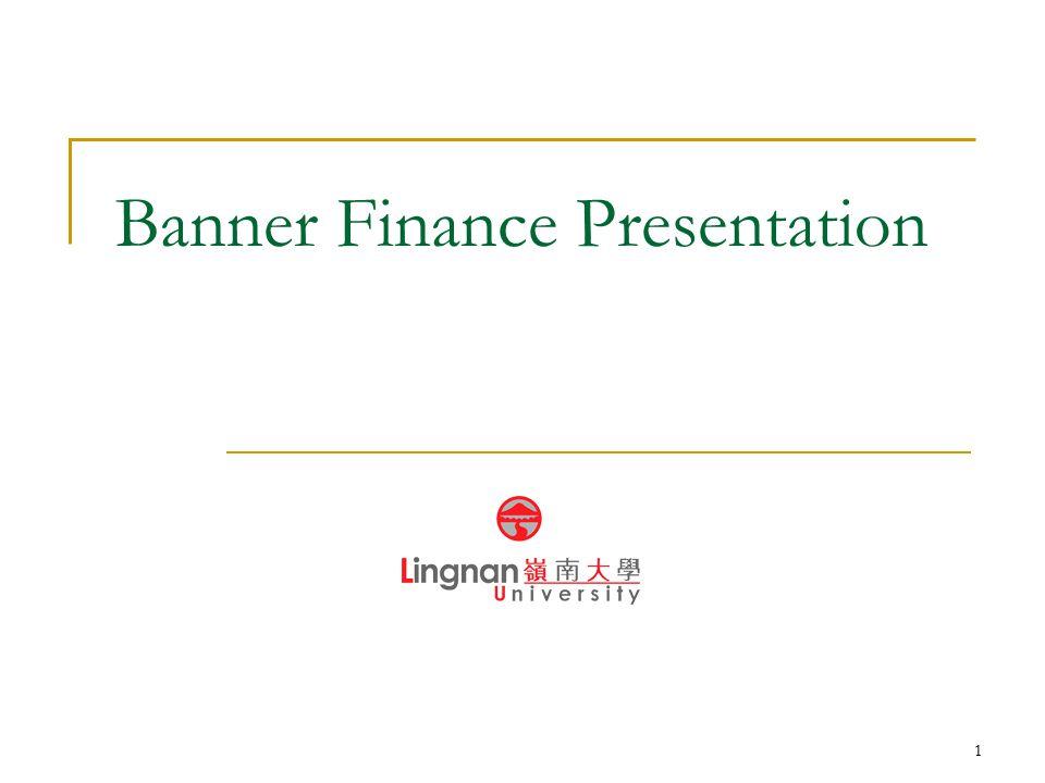 1 Banner Finance Presentation