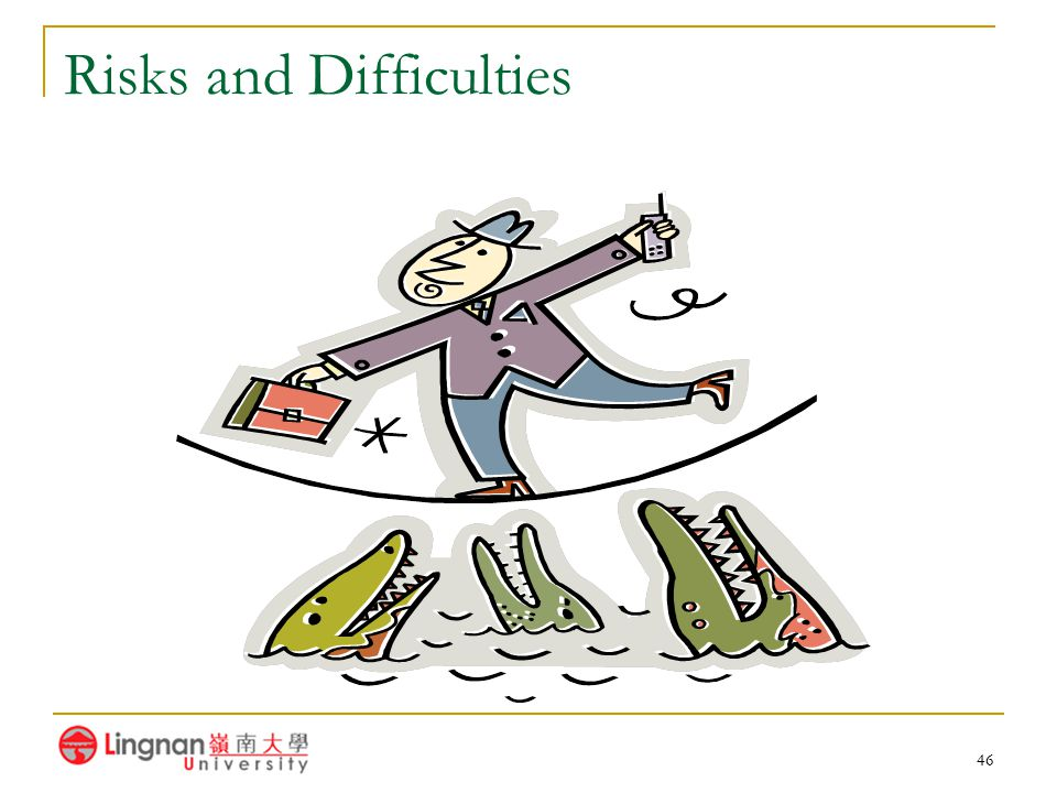 46 Risks and Difficulties
