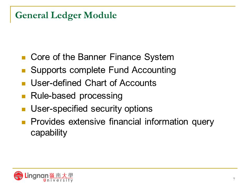 28 Banner Interfaces Banner Student A/R to Finance Banner Alumni to Finance Banner Payroll to Finance (not yet implemented)