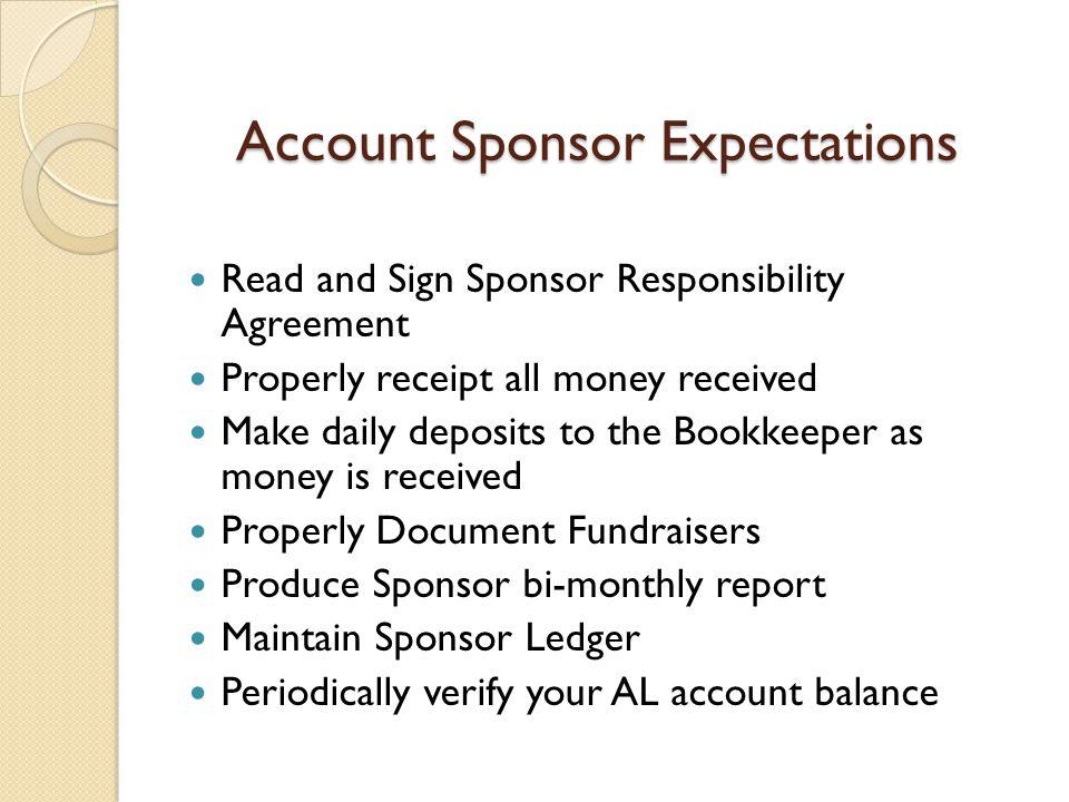 Produce Sponsor bi-monthly report
