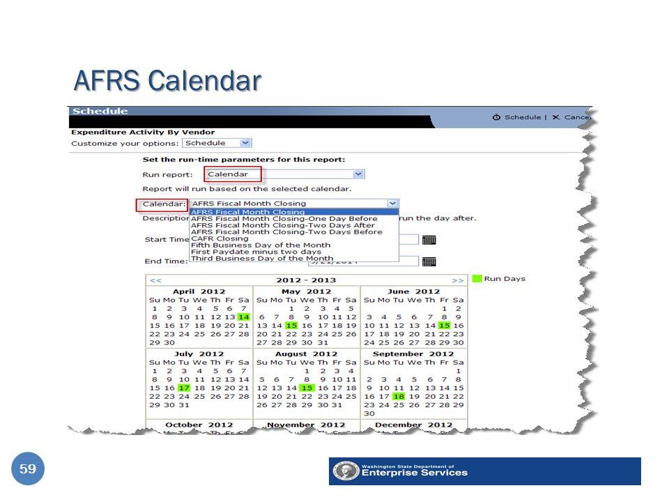 AFRS Calendar 59
