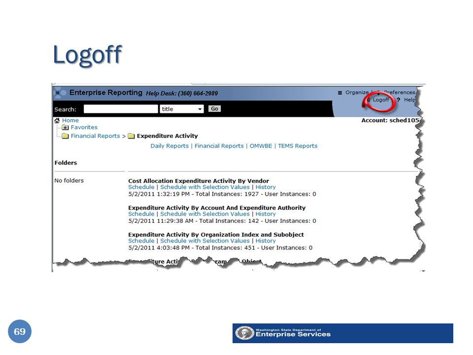 Logoff 69
