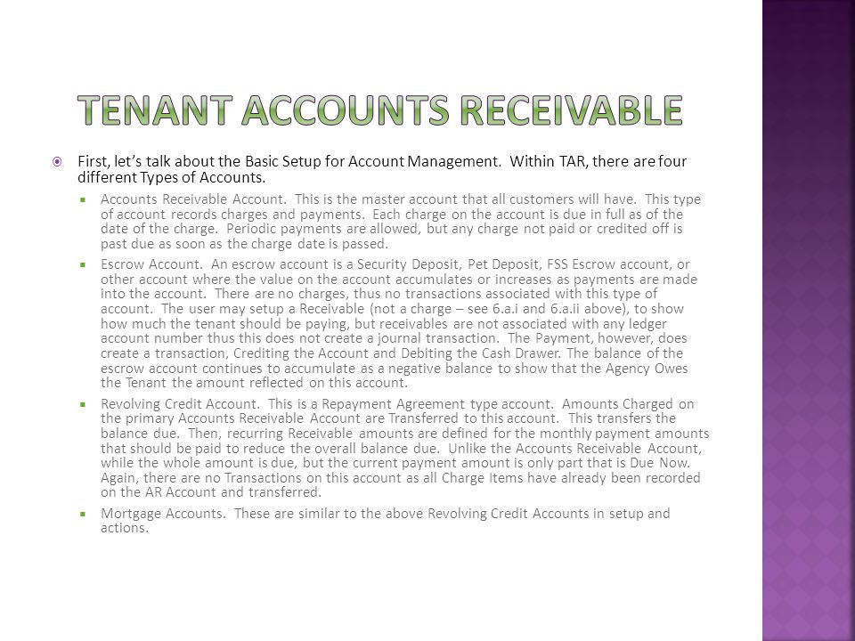  First, let's talk about the Basic Setup for Account Management.
