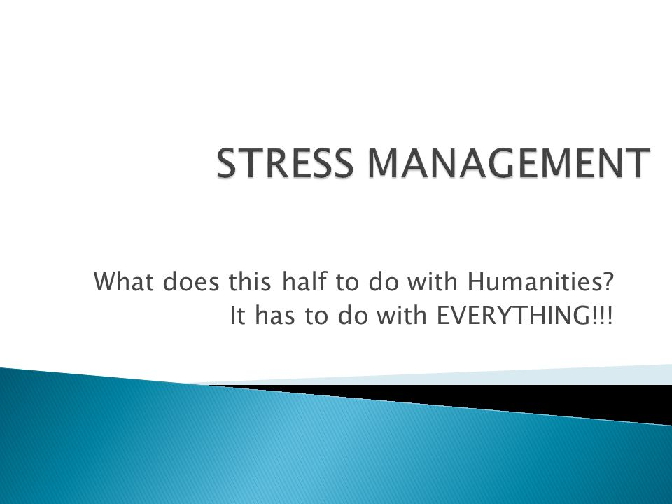 What does this half to do with Humanities? It has to do with EVERYTHING!!!