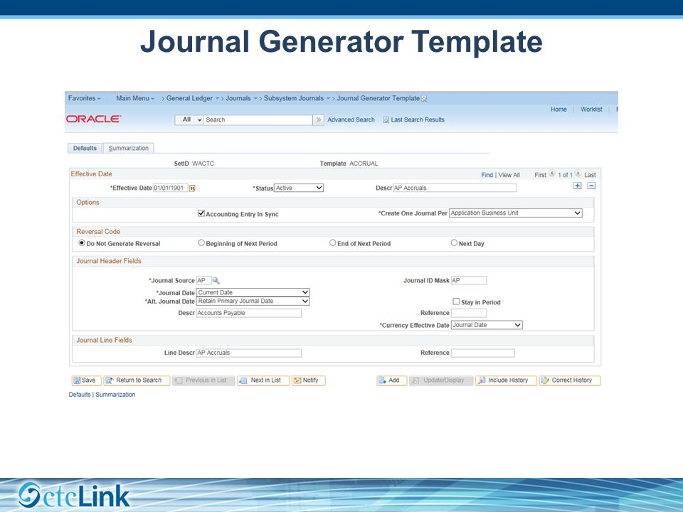 Journal Generator Template