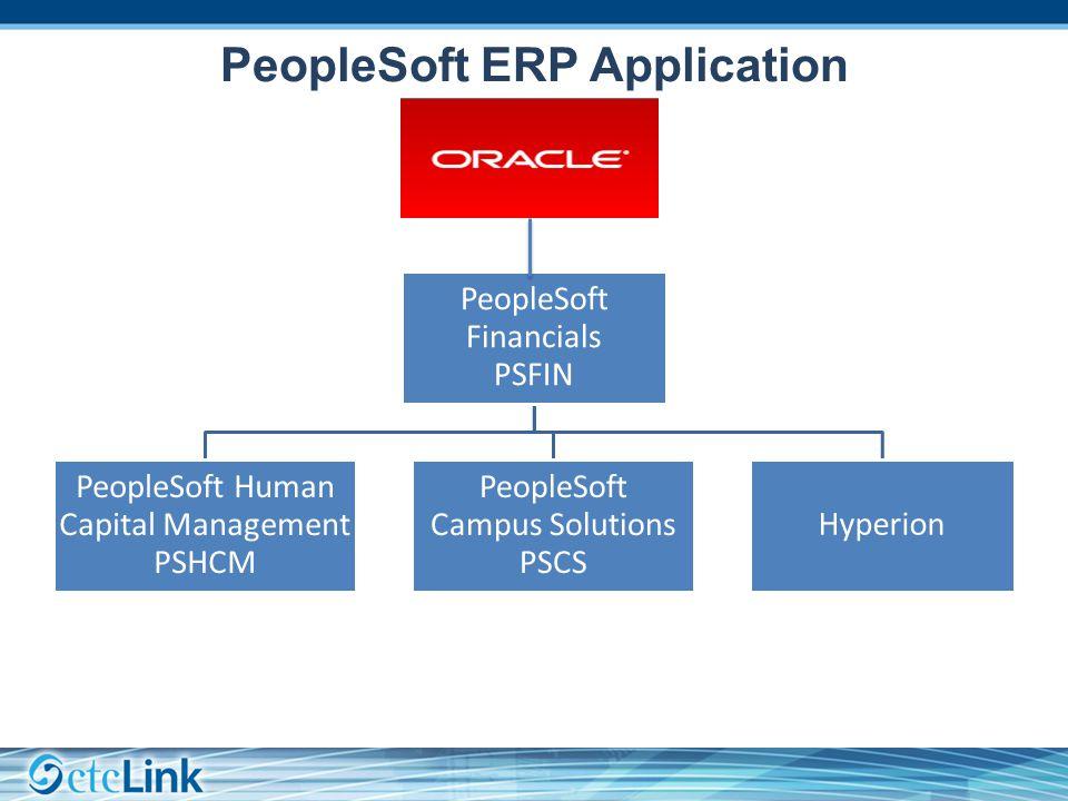 PeopleSoft Financials General Ledger Process Flow