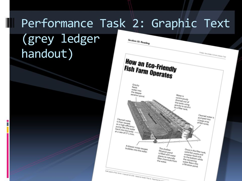Performance Task 2: Graphic Text (grey ledger handout)
