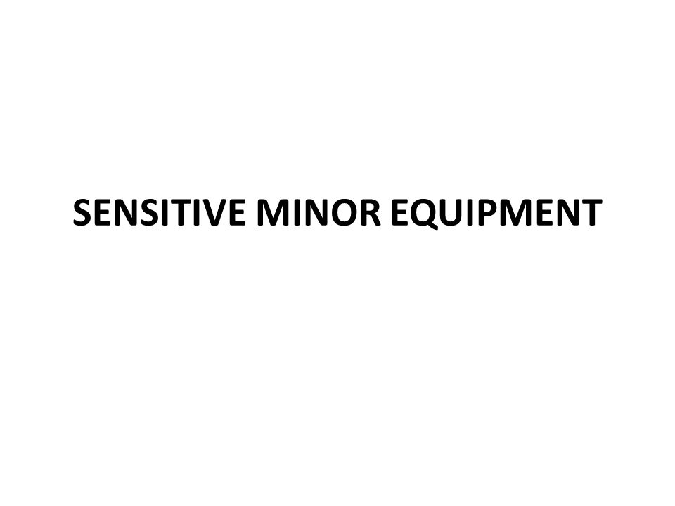 CAPITAL EQUIPMENT Supplies and Materials This category includes equipment items of a movable nature which have a cost or fair value (for donated items only) less than $5,000 and are not listed in the definition of sensitive minor equipment.