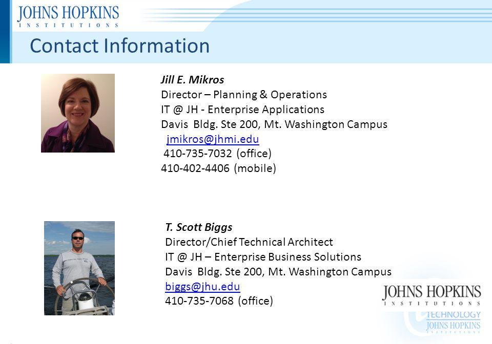Contact Information Jill E.