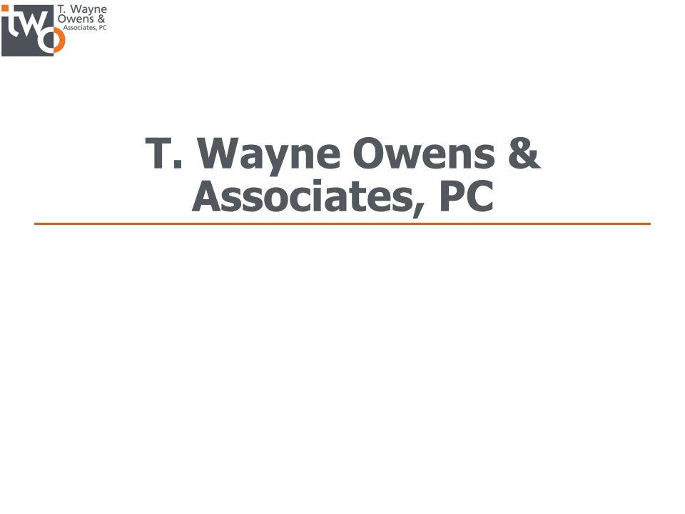 T. Wayne Owens & Associates, PC