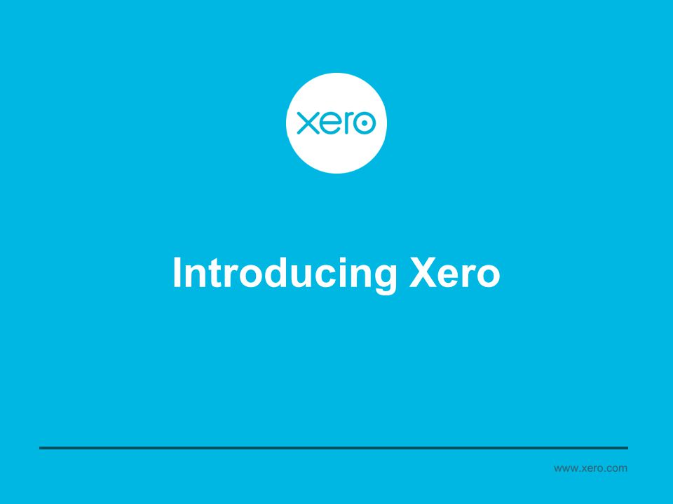 Introducing Xero