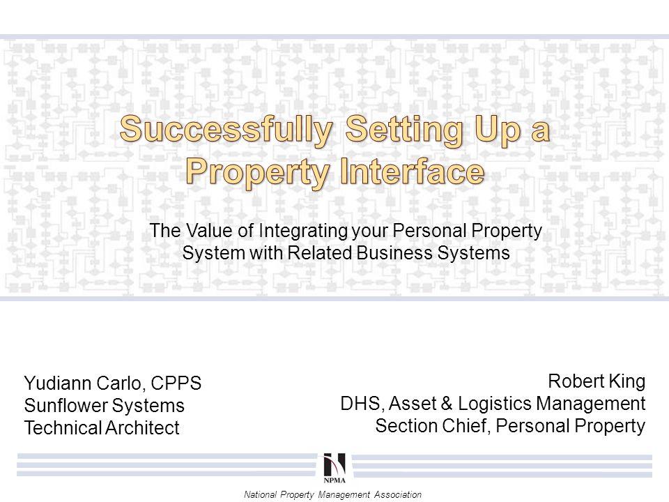 National Property Management Association Conclusion Identify Value Plan Implement