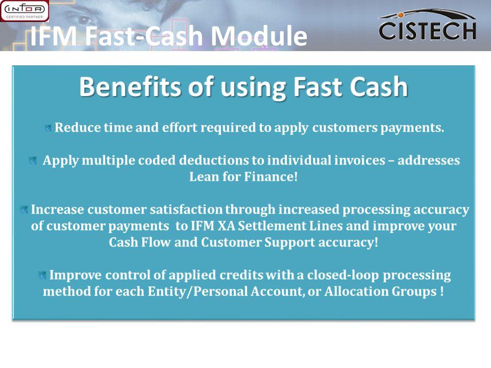 IFM Fast-Cash Module