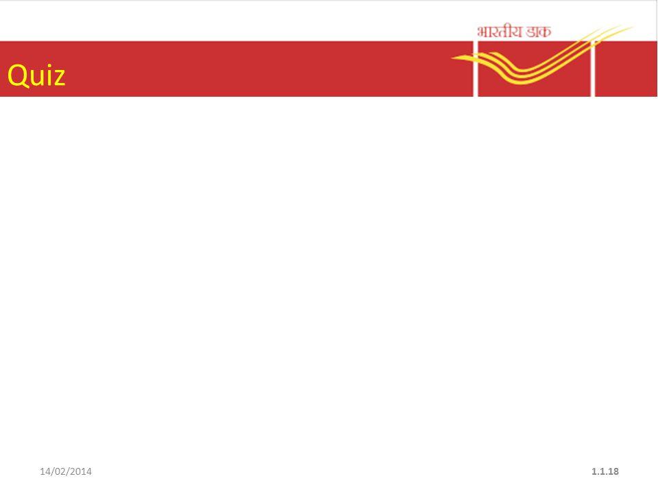 Quiz 14/02/20141.1.18