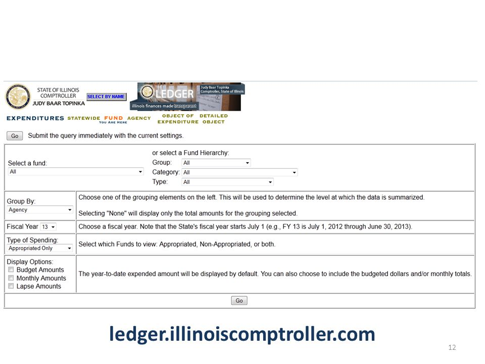 ledger.illinoiscomptroller.com 12