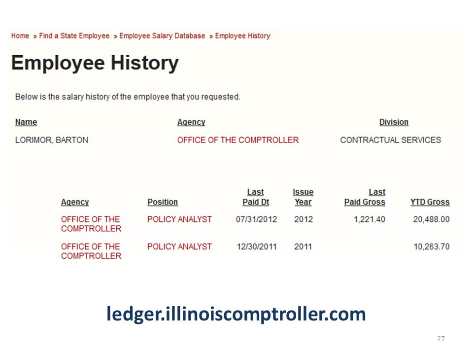 ledger.illinoiscomptroller.com 27