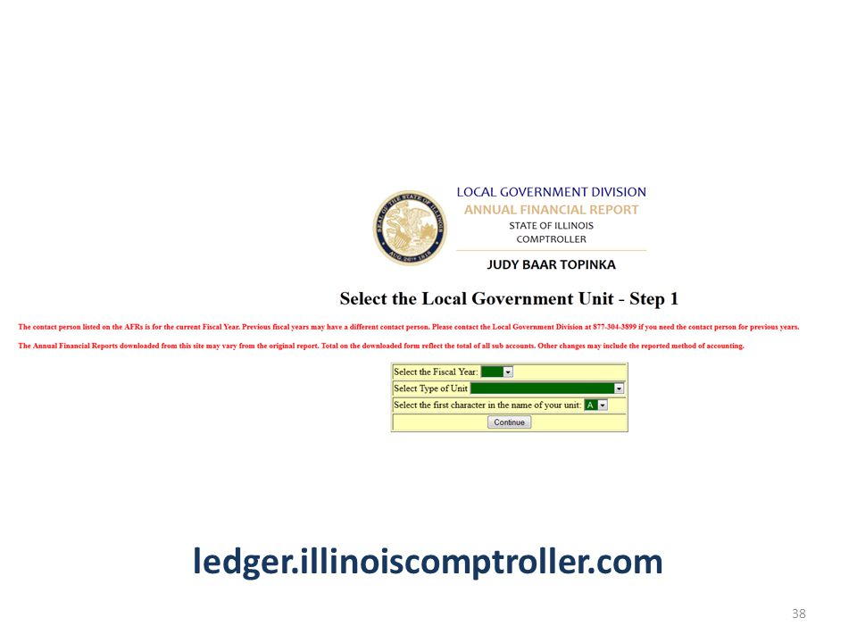 ledger.illinoiscomptroller.com 38