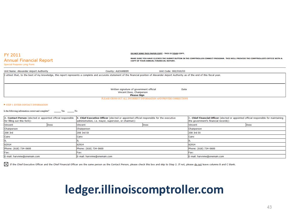 ledger.illinoiscomptroller.com 43