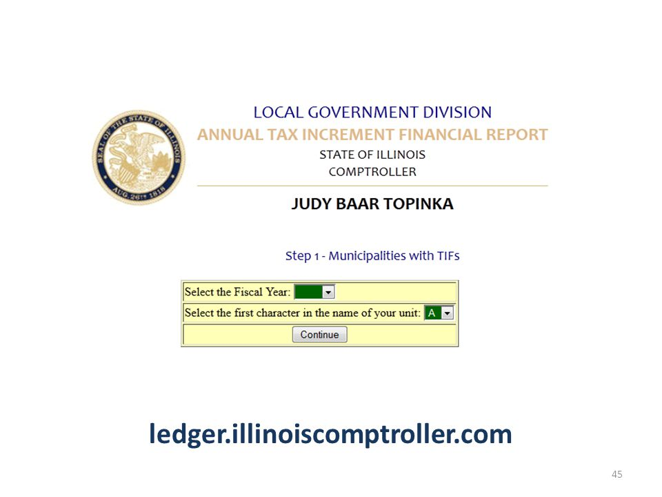 ledger.illinoiscomptroller.com 45