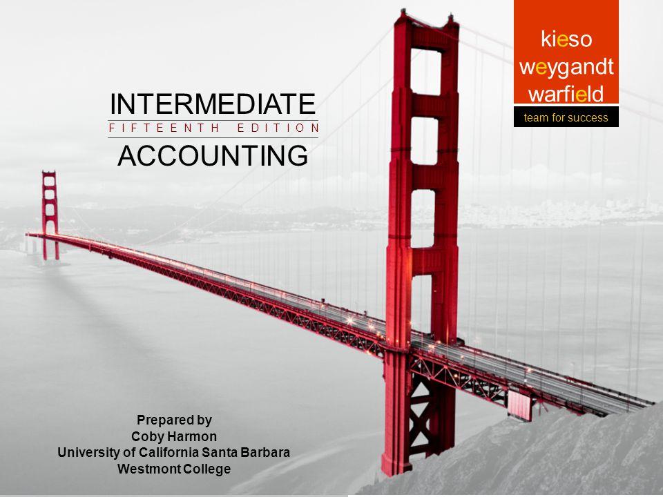3-1 Prepared by Coby Harmon University of California, Santa Barbara Intermediate Accounting Prepared by Coby Harmon University of California, Santa Ba