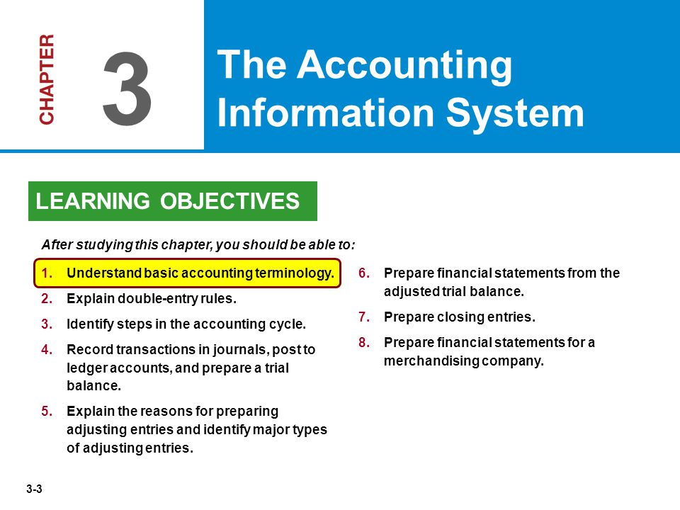 3-64 Adjusting Entries for Accruals Illustration 3-27 Accruals are either  accrued revenues or  accrued expenses.