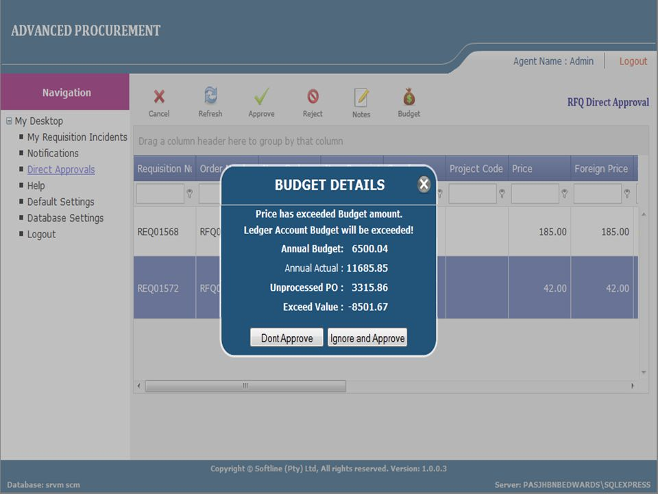 Speed Cost Growth Skill Advanced Procurement on the Web