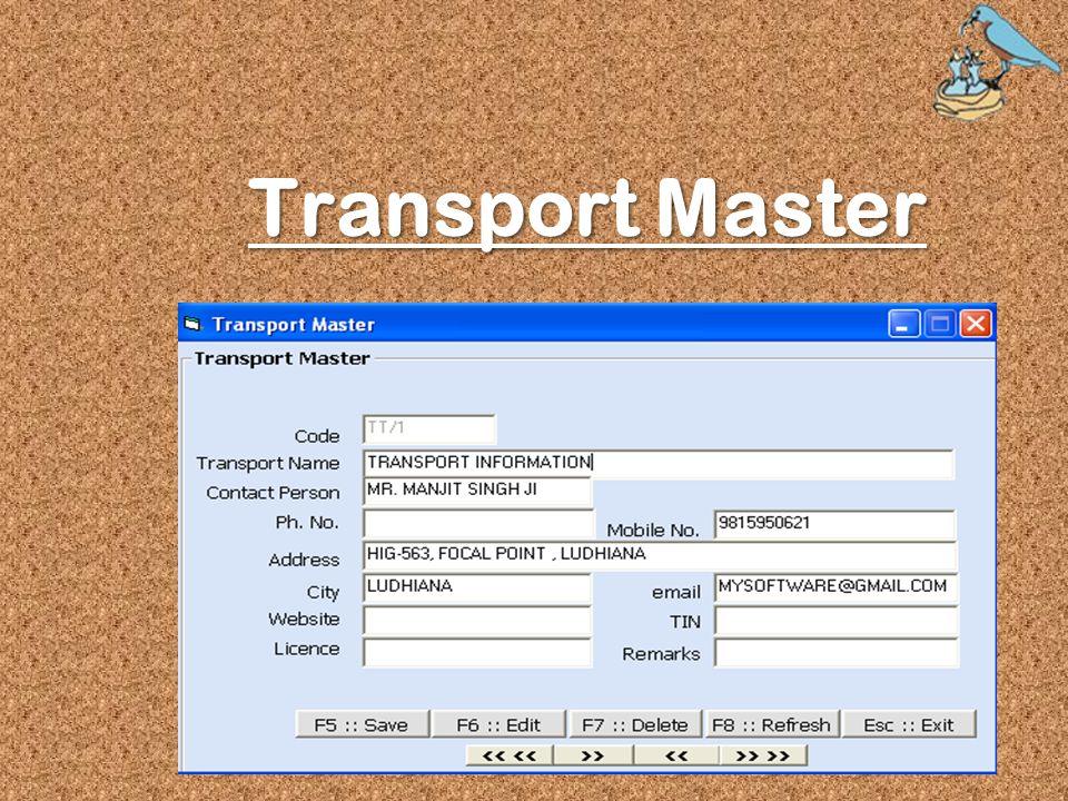Transport Master