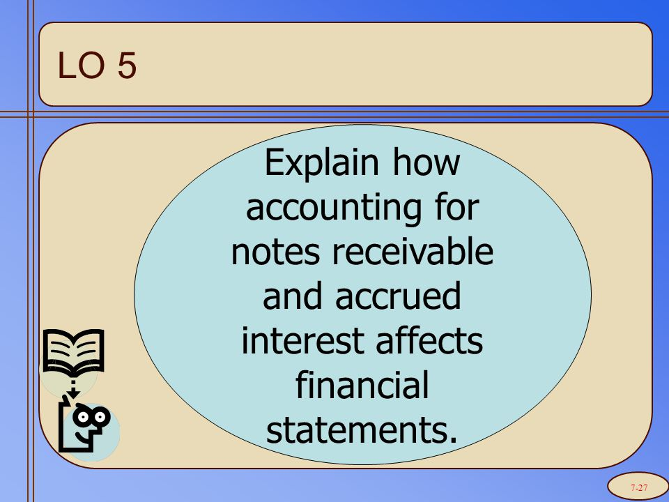 Explain how accounting for notes receivable and accrued interest affects financial statements.