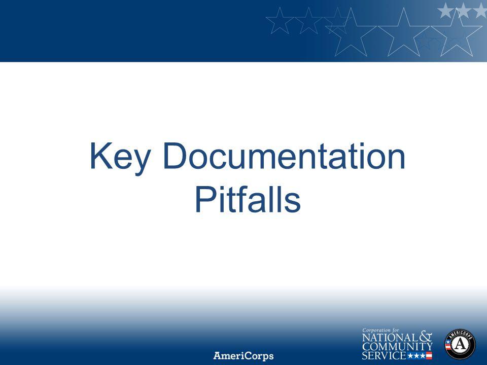 Key Documentation Pitfalls
