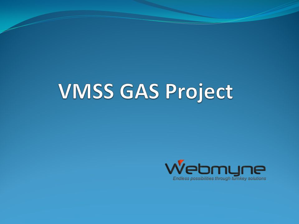 VMSS GAS Project This is a web application by which VMSS Gas agency can generate customer's Gas bill very easily an accurately.