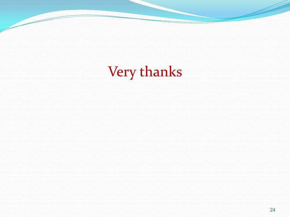 Very thanks 24