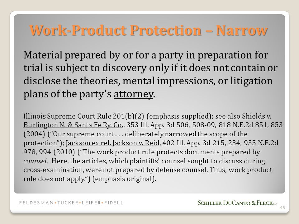 Material prepared by or for a party in preparation for trial is subject to discovery only if it does not contain or disclose the theories, mental impressions, or litigation plans of the party's attorney.