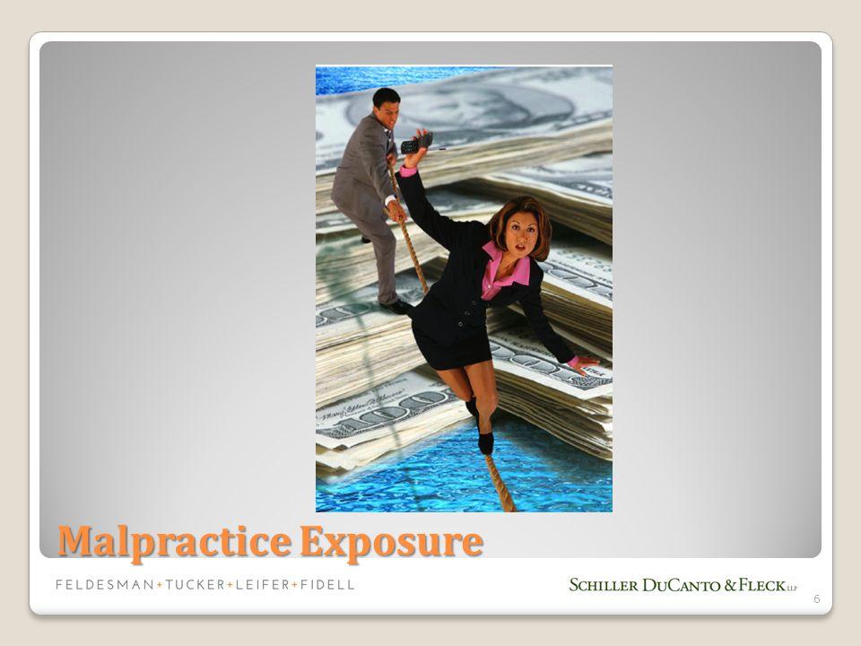Malpractice Exposure 6