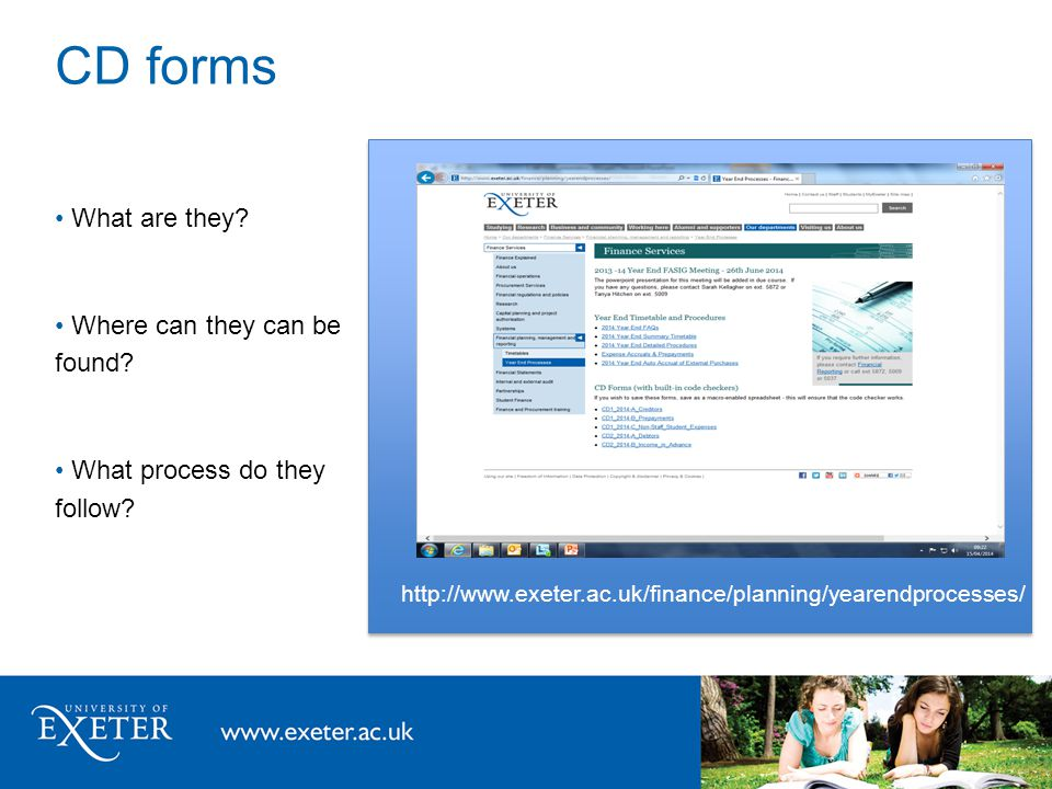 Research Ledger CD Forms Material limit previously stated Use code checker as indication of eligibility Corporate Accounting liaise with Research Accounting for sign-off Audit Checks Follow KPMG guidance and liaise with RAFT teams during July/August Split Grants Performed monthly Therefore year-end as per monthly procedure but later Grant Statements Priority given to year-end tasks