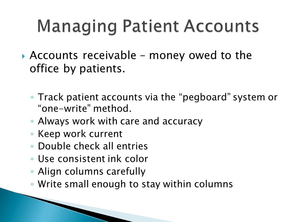  Accounts payable – refunds of overpayment, replenish petty cash.